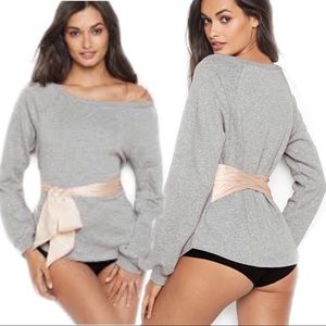 Victoria's Secret Tie Waist Sweater Sz Small